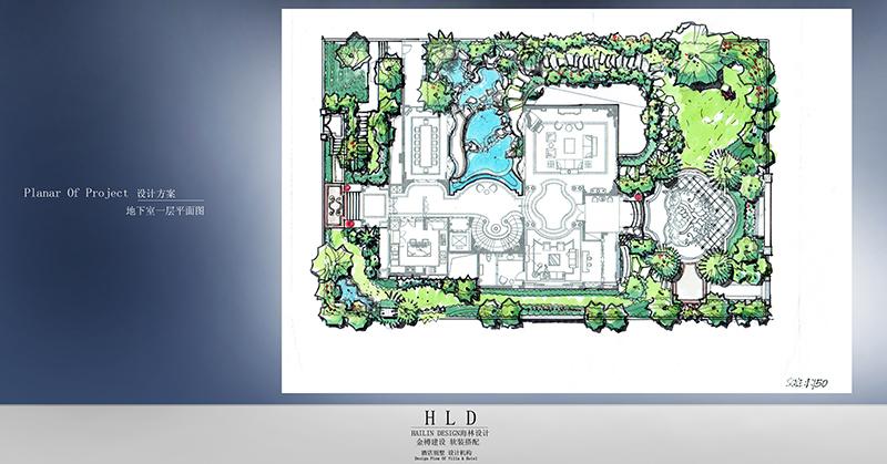 佛山綠島明珠/獨棟別墅/2052平方米_佛山別墅設計